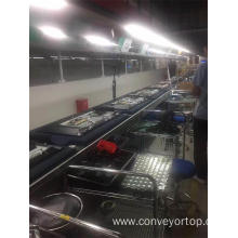 High Quality for Speed Chain Conveyor Systems,Chain Conveyor System,Speed Chain Conveyor Manufacturers and Suppliers in China LCD TV Assembly Line Double Speed Chain Conveyors supply to South Korea Manufacturers