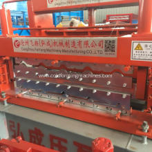 Free sample for Building Glazed Tile Roll Forming Machine Steel Roof Panel Glazed Tile Forming Machine supply to Madagascar Factory