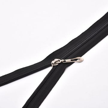 Heavy duty nylon separating zippers for coat