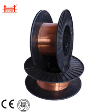 "Factory Price for Aws E70S-6 Welding Wire,70S-6 Welding Wire,Rutile Welding Rod Manufacturers and Suppliers in China Solid Steel Welding Wire ER70S-6 0.035"" 0.9 mm supply to Portugal Exporter"