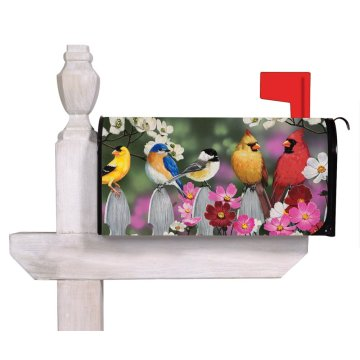 Custom outdoor garden magnet mailbox cover