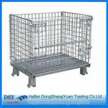 Europe style for for Storage Cage New Arrival Storage Stacking Wire Cage supply to Angola Importers