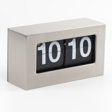 Factory best selling for Flip Clock Karlsson Metal Box Flip Clock for Table and Wall export to Malawi Supplier