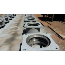 OEM/ODM Supplier for Concrete Pump S Valve, Concrete Pump Kidbey Plate, Concrete Pump Kidney Seal Supplier in China Concrete pump parts putzmeister housing complete supply to Angola Manufacturer