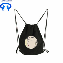 Reliable for Cotton Fabric Bag Drawstring Custom-made vintage canvas bag with drawstring bag supply to Lao People's Democratic Republic Manufacturer