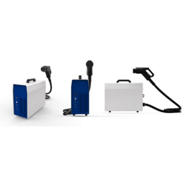 Double gun 7KW portable electric vehicle charging stations