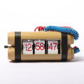 Toy Bomb-shape Flip Desk Clock