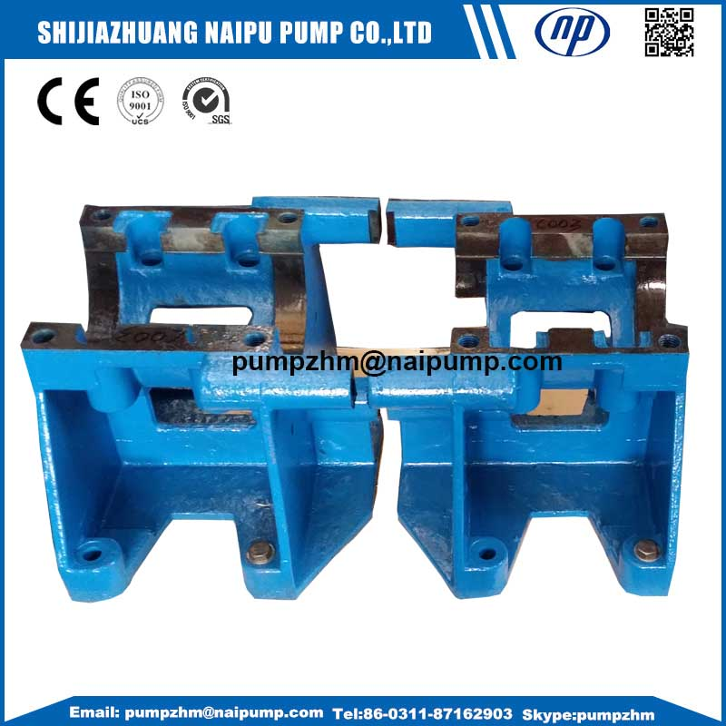 Slurry pump parts pump base China Manufacturer