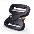38mm Heavy Duty 18KN Metal Tactical Military Cobra Belt Buckle With Black Electrophoresis