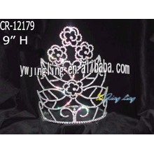 Fashion flower pageant crown