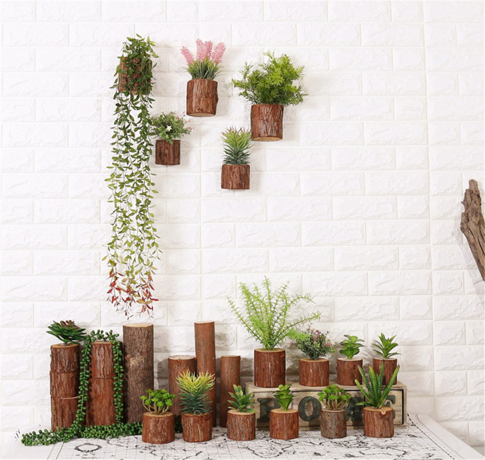 healthy wooden wall decoration