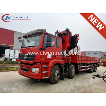 Top Quality ShacmanM3000 12T Folding Crane Truck