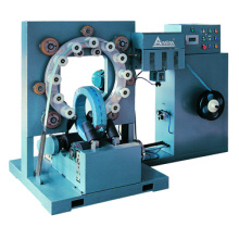 Ring type stretch wrapping machine