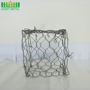 double twist heavy galvanized woven gabion baskets