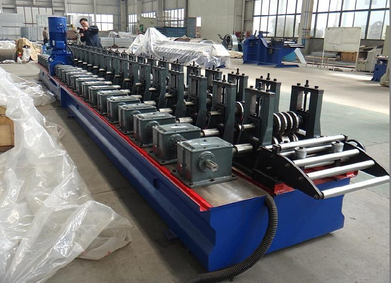 Nine Fold Profile Electric Cabinet Machine