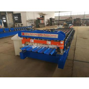 Trapezoidal IBR Sheet Metal Roof Roll Forming Machine