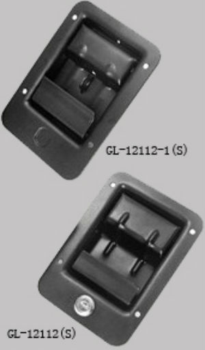 Key-Locking Recessed lock GL-12112TT1