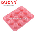 12 Rongga Mini Silicone Permen Chocolate Ice Mould
