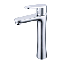 Cold and hot single hole washbasin toilet faucet