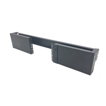 2U Hinged Wall Mount Rack Bracket