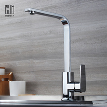 China for Kitchen Faucet,Brass Kitchen Faucet,Sink Faucet Manufacturers and Suppliers in China HIDEEP Full Brass Chrome Kitchen Sink Faucet supply to Netherlands Exporter