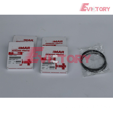 YANMAR engine piston 4TNV78 piston ring