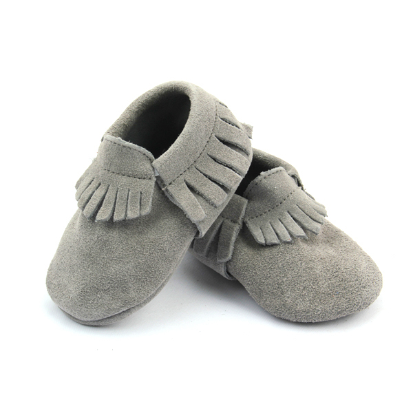 Mix color Suede Leather Baby Moccasins Shoes Wholesales