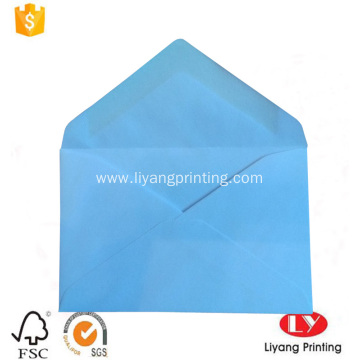 Custom color printed wallet style paper envelope