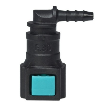 Conductive Quick Connector 6.30 (1/4) - ID3 - 90° SAE
