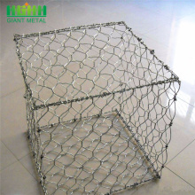 Hexagonal mesh rockfall protection netting sack gabion