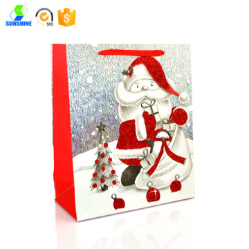 Carboard Christmas gift bag