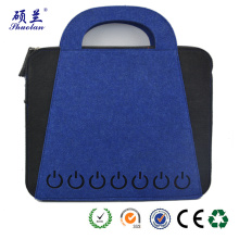 High quality eco-friendly felt laptop bag file bag