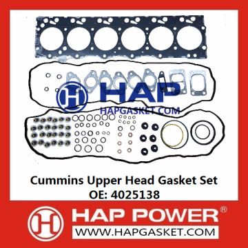 Cummins Upper Head Gasket Set 4025138