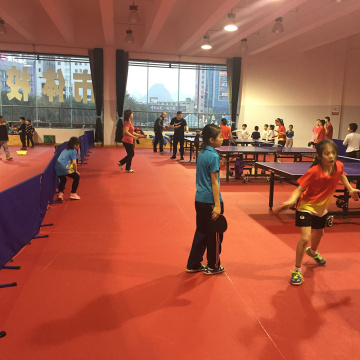 indoor professional competition use table tennis flooring