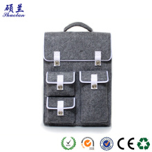 China for  High quality felt backpack school laptop bag export to United States Wholesale
