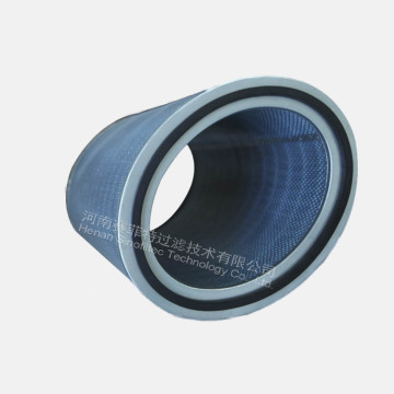 Oval blue Filter Paper  Air Filter Cartridges