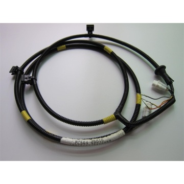 Wire harness with wrap