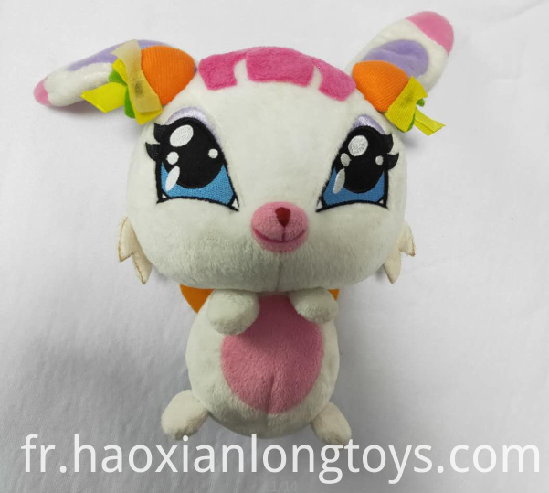 Animation plush rabbit toys
