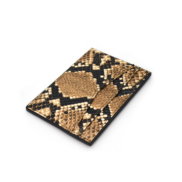 2019 trending Python Leather Id Credit Card Holder