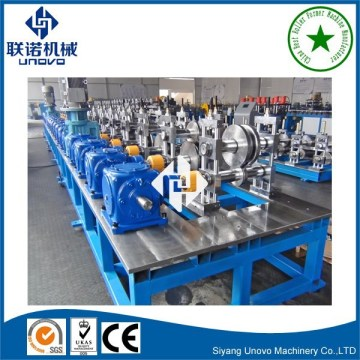 photovoltaic solar panel rack section cold rolling forming machine