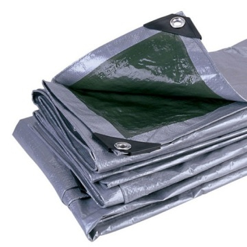 Heavy Duty Gray PE Tarpaulin