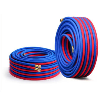 Two line welding hose for cutting equipment