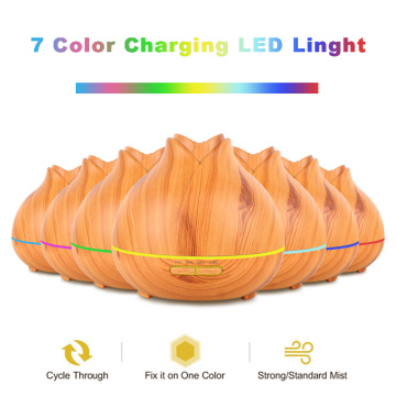 Wood Grain Fragrance Oil Aroma Diffuser