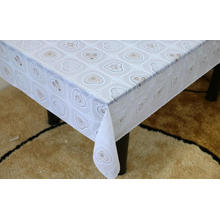 hanukkah Printed pvc lace tablecloth by roll