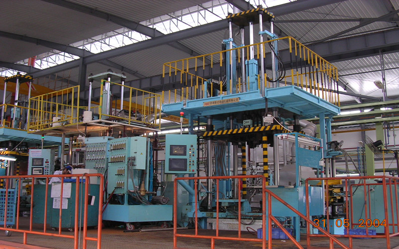 The low pressure casting machine