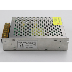 12V 6.25A 75W LED switching model power supply