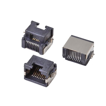 RJ45 SIDE  ENTRY PCB JACK SMD