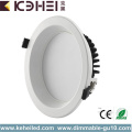 15W Dimmable LED Downlights White Black Lighting