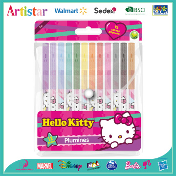 HELLO KITTY water colour markers set