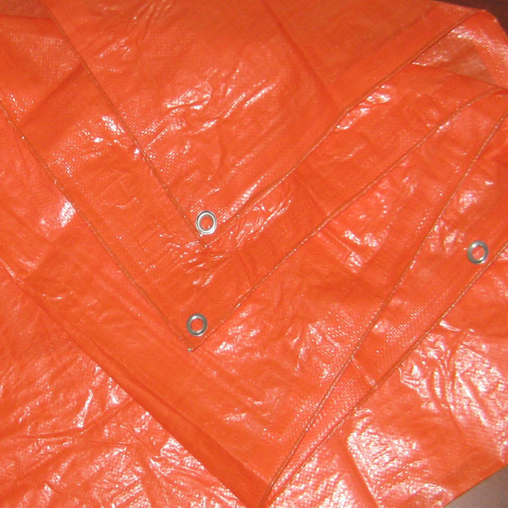 90GSM Orange Tarpaulin Middle East Market